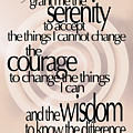 Serenity Prayer 06 by Vicki Ferrari