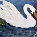 Serenity Swan by Linda Fitzgerald