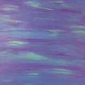 Serenity Acrylic Abstract by Roberta Byram