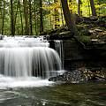 Serenity Waterfalls Landscape by Christina Rollo