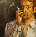 Serge Gainsbourg by Carmen Stanescu Kutzelnig