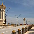 Seri Gemilang Bridge In Putrajaya by Louise Heusinkveld