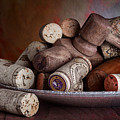 Served - Wine Taps And Corks by Tom Mc Nemar