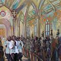 Service In San Fernando Cathedral by Alexa Nelipa