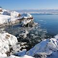 Setting Ice On Superior by Sandra Updyke