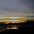 Kankakee Sunset  by Don Baker