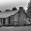 Settlers Cabin Tennessee by Douglas Barnett
