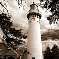 Seul Choix Point Lghthouse Mi by Rich Stedman