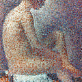 Seurat: Model, 1887 by Granger