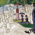Seurat Sunday Afternoon by Karla Beatty
