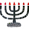 Seven-branched Temple Menorah by Christine Till