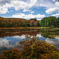 Seven Lakes Autumn Reflections by Daniel Portalatin