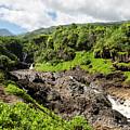 Seven Sacred Pools Ohe'o Mau by Keith Ducker