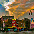 Seventh And Bleeker At Sunrise Nyc by Chris Lord