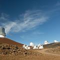 Several Mauna Kea Observatories by Jim Thompson