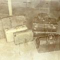 Several Vintage Bags On Floor by Jorgo Photography - Wall Art Gallery