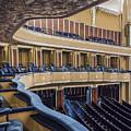 Severance Balcony And Main Floor by Kathleen Nelson
