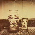 Severed And Preserved Head And Hand In Jars by Jorgo Photography - Wall Art Gallery