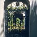 Seville City Courtyard by Bob Phillips