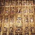 Seville Golden Wall Cathedral II Spain by John Shiron