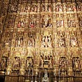 Seville Golden Wall Cathedral Spain by John Shiron
