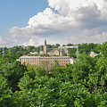 Seville Schofields Mill And St John The Baptist - Manayunk by Bill Cannon
