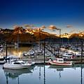 Seward Alaska Boat Marina by Mountain Dreams