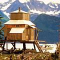 Seward Alaska House Of Stilts by James BO Insogna