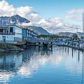 Seward Harbor In Alaska by Brenda Jacobs
