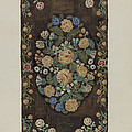 """Sewed """"caterpillar"""" Rug by Marion Curtiss"""