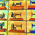 Sewing Machines Come To Life by Jost Houk