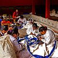 Sewing Tapestries by Roberta Bragan
