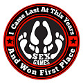 Sex Games by Firsttees Motivational Artwork