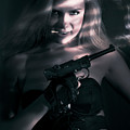 Sexy Woman Assassin by Jorgo Photography - Wall Art Gallery