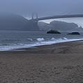 Sf Baker Beach by Michael Gordon