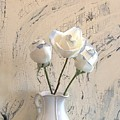 Shabbi Chic Roses by Marsha Heiken