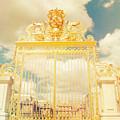 Shabby Chic Gold Gate Versailles by Sandra Rugina