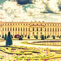 Shabby Chic Hdr Panorama Versailles Paris by Sandra Rugina
