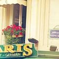 Shabby Chic Paris Saint Germain by Sandra Rugina