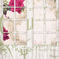 Shabby Cottage French Doors by Mindy Sommers