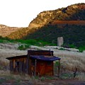 Shack In The Canyons by Charleen Treasures