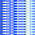 Shades Of Blue Highrise by Ann Johndro-Collins