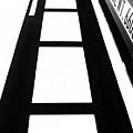 Shadow Of Semi Truck by Fei A
