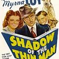 Shadow Of The Thin Man, Myrna Loy by Everett