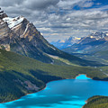 Shadow Shades Of Peyto by Adam Jewell