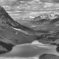 Shadow Shades Of Peyto Black And White by Adam Jewell