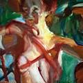 Shadows On A Nude by Bob Dornberg