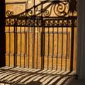 Shadows On A Wood Door by Sven Brogren