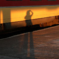Shadows On The Platform 2 by Fay Lawrence