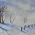 Shadows On The Snow by Lisa Schorr